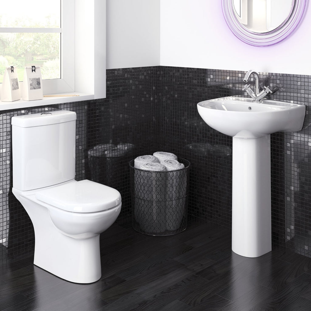 Lawton P Shape Bathroom Suite (RRP £848)