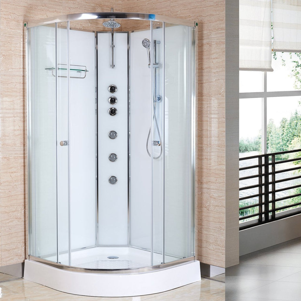 Opus Shower Cabin - 800, 900, 1000, 1200mm