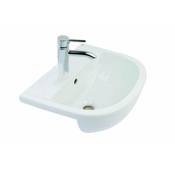 RAK Compact Semi-Recessed 550mm Basin