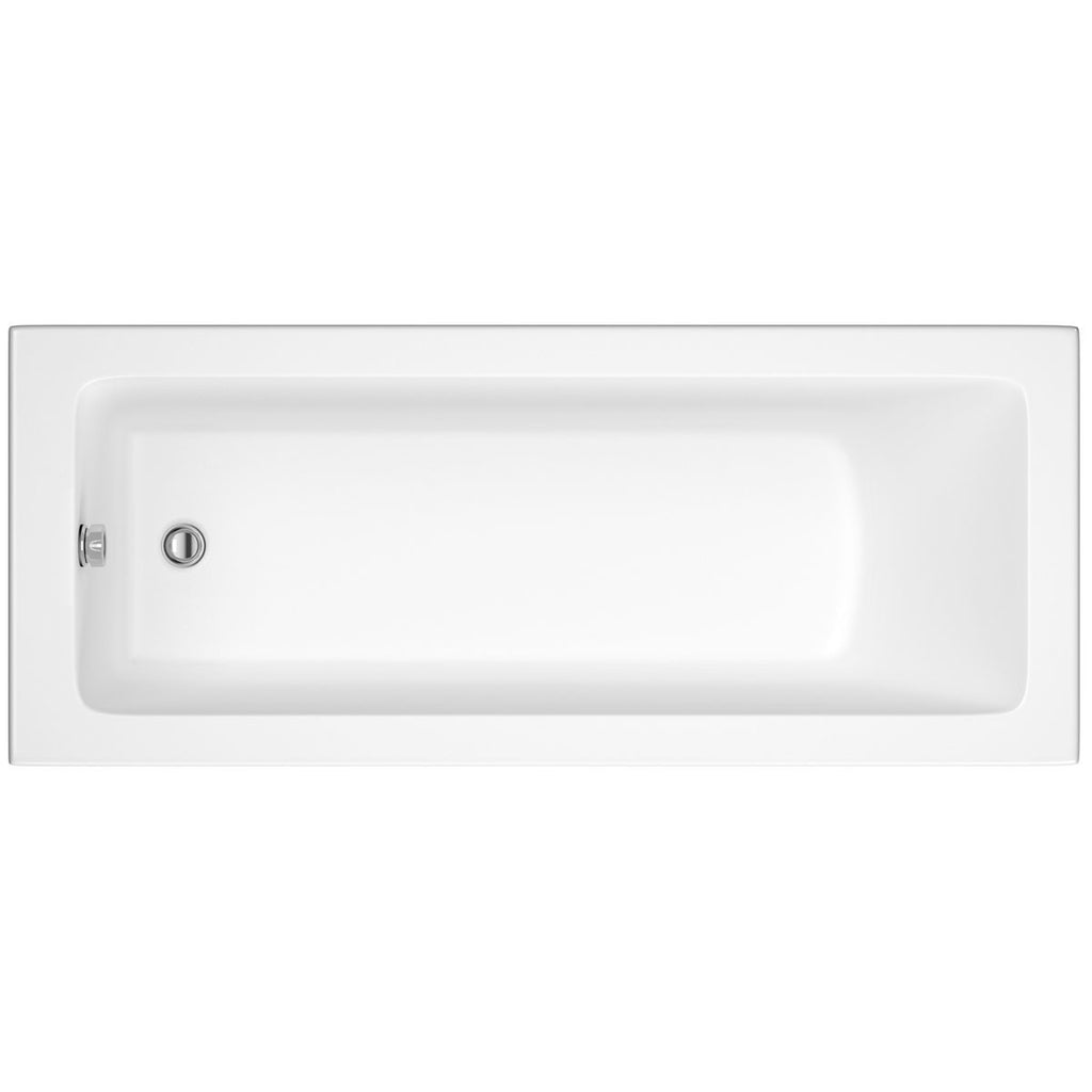 Solarna Single Ended Bath - 1500, 1600, 1700, 1800mm