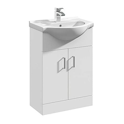 Mayford 2 Door 550mm Freestanding Vanity Unit & Basin