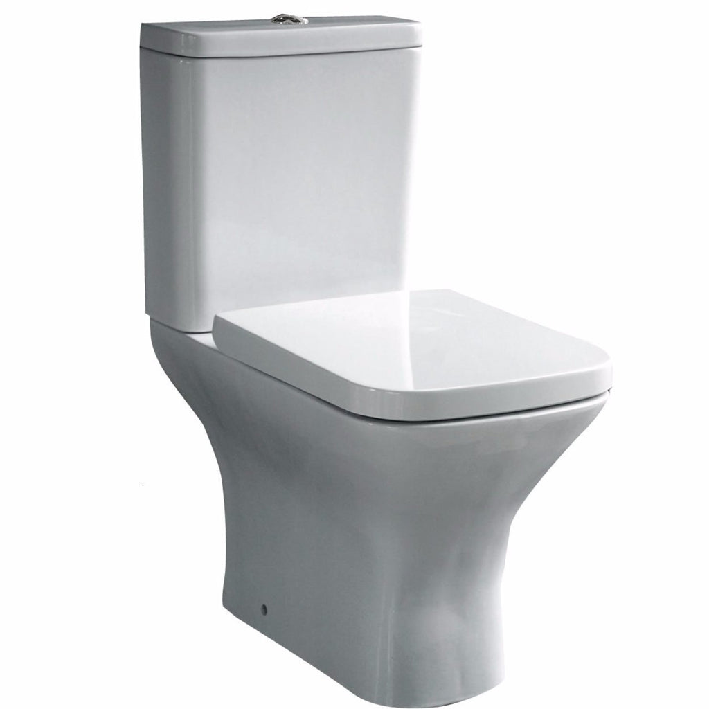 Aleo Square Close Coupled Toilet
