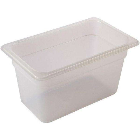 1/2 -Polypropylene GN Pan 150mm Clear