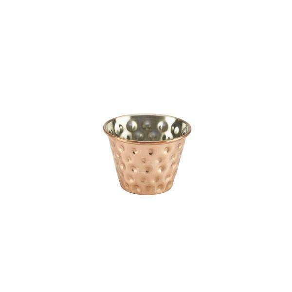 2.5oz Copper Plated Hammered Ramekin