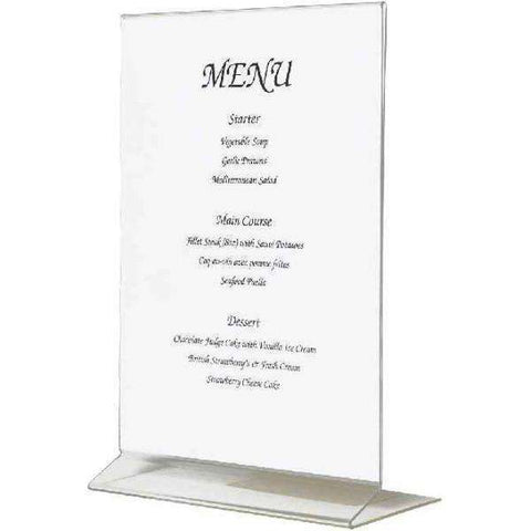 Acrylic Menu Holder A5 Size