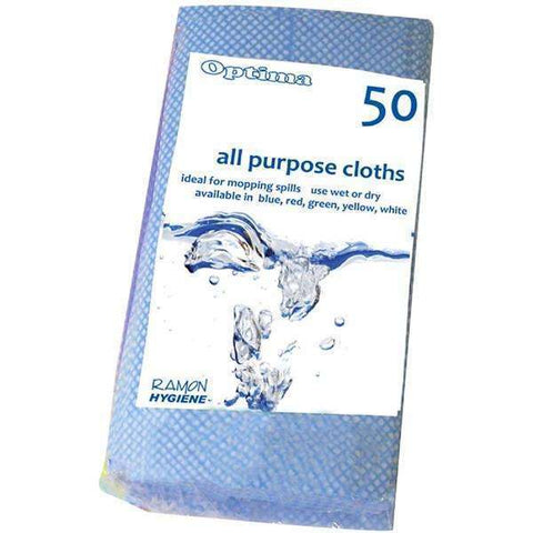 All Purpose Cloth Blue (50Pcs)