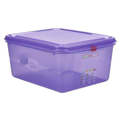 Allergen GN Storage Container 1/2 150mm Deep 10L