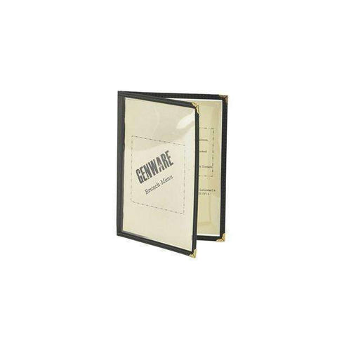 American Style Clear Menu Holder A5- 2 Page