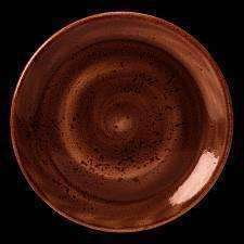 Craft Terracotta Plate Coupe 20.25Cm 8
