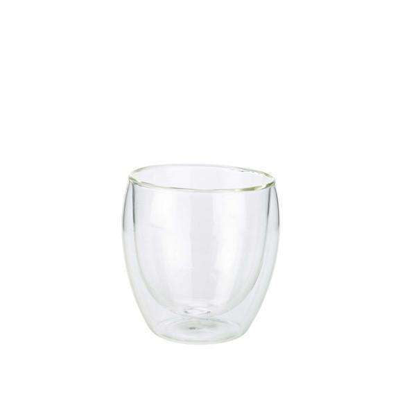 Double Walled Coffee Glass 25cl / 8.75oz