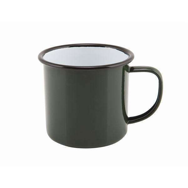 Enamel Mug Green 36cl/12.5oz