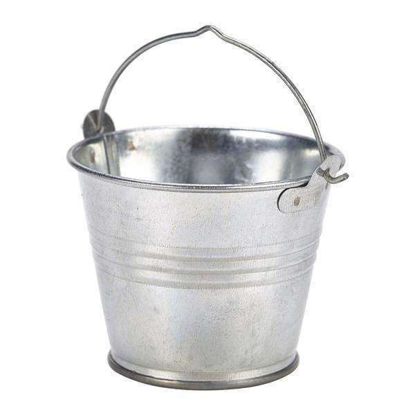 Galvanised Steel Serving Bucket 7cm Ø 4oz