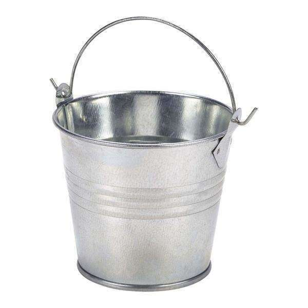 Galvanised Steel Serving Bucket 8.5cm Ø