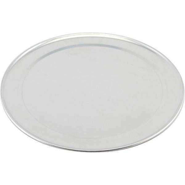 Genware Alum. Flat Wide Rim Pizza Pan 12""