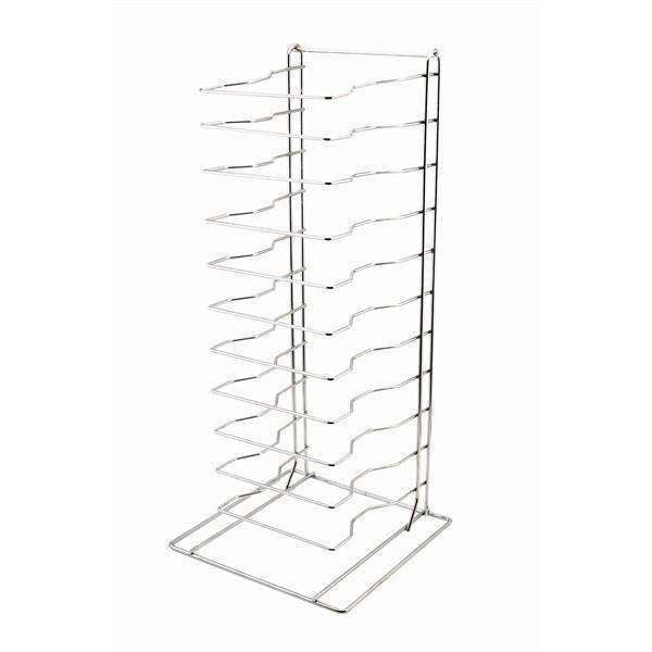 Genware Pizza Rack/Stand 11 Shelf