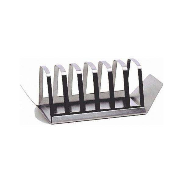 Neville S/St.Boxed Toast Rack & Tray**