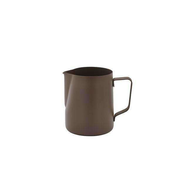 Non-Stick Brown Milk Jug 600ml/20oz