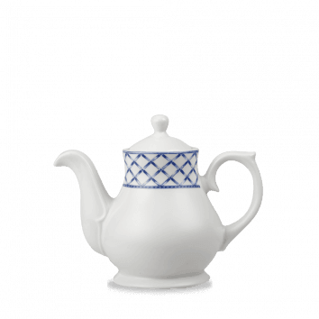 Pavilion Sandringham Tea / Coffee Pot  42cl 15oz H: 14.5cm