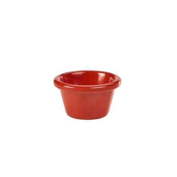 Ramekin 2oz Smooth Red