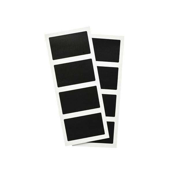 Self Adhesive Rectangular Chalkboard Set 8pcs