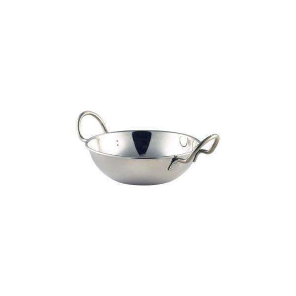 "S/St.Balti Dish 15cm(6"")With Handles"