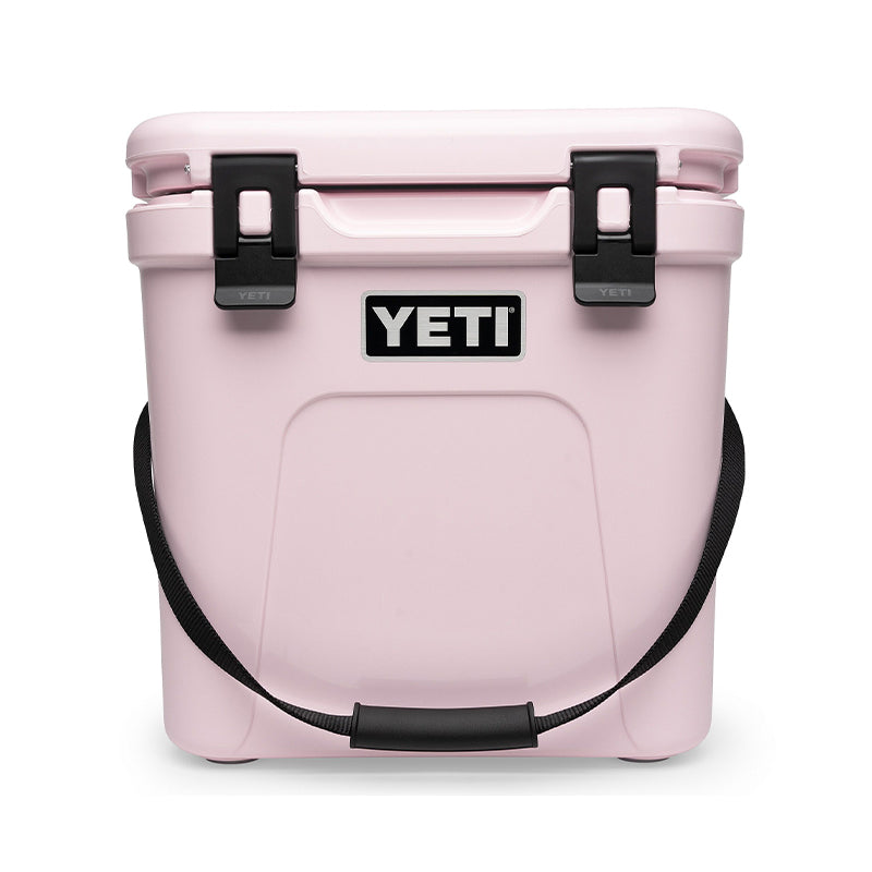 YETI Roadie 24 hard cooler in the new Ice Pink color, now available at Palmetto Moon.