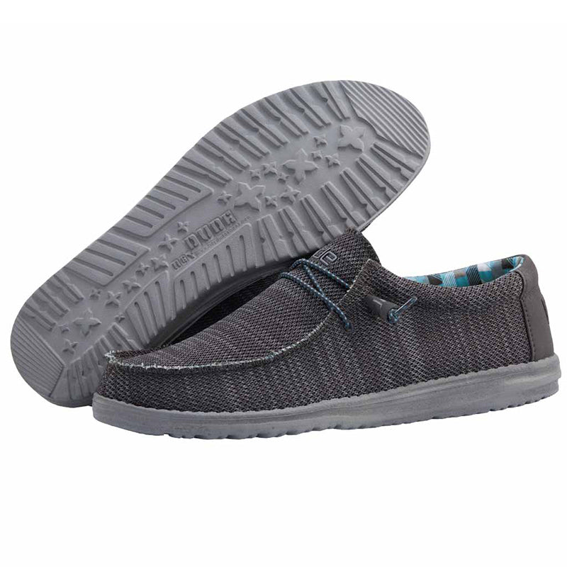 Men's Wally Sox in Charcoal