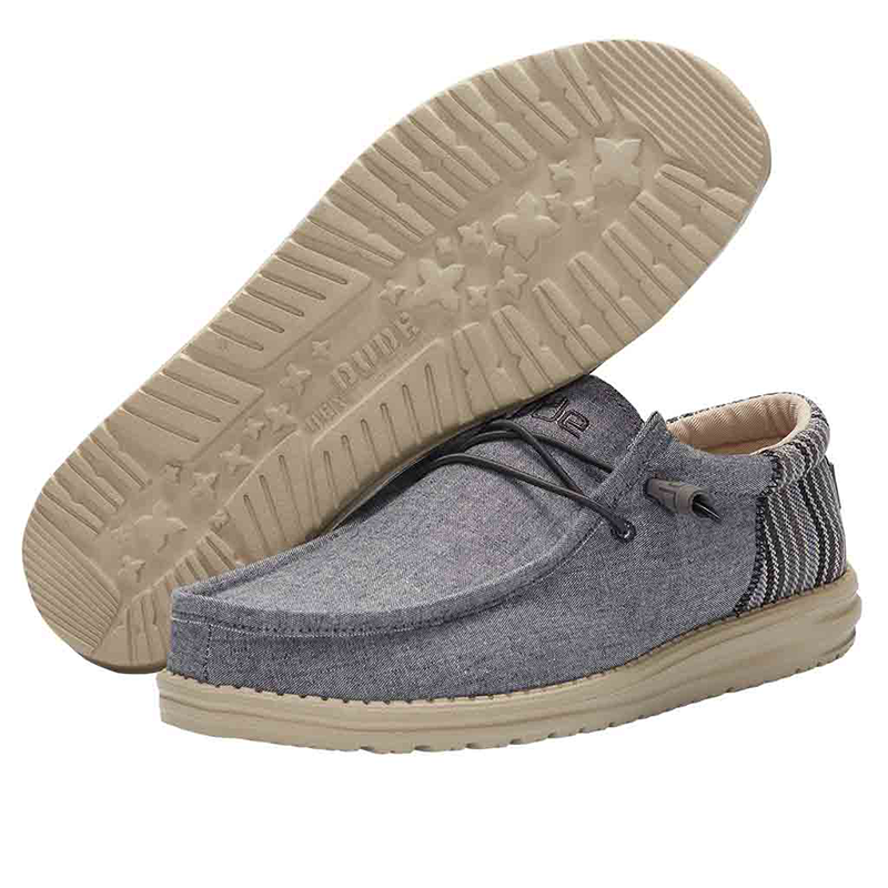 Men's Wally Funk Shoe in Anchor
