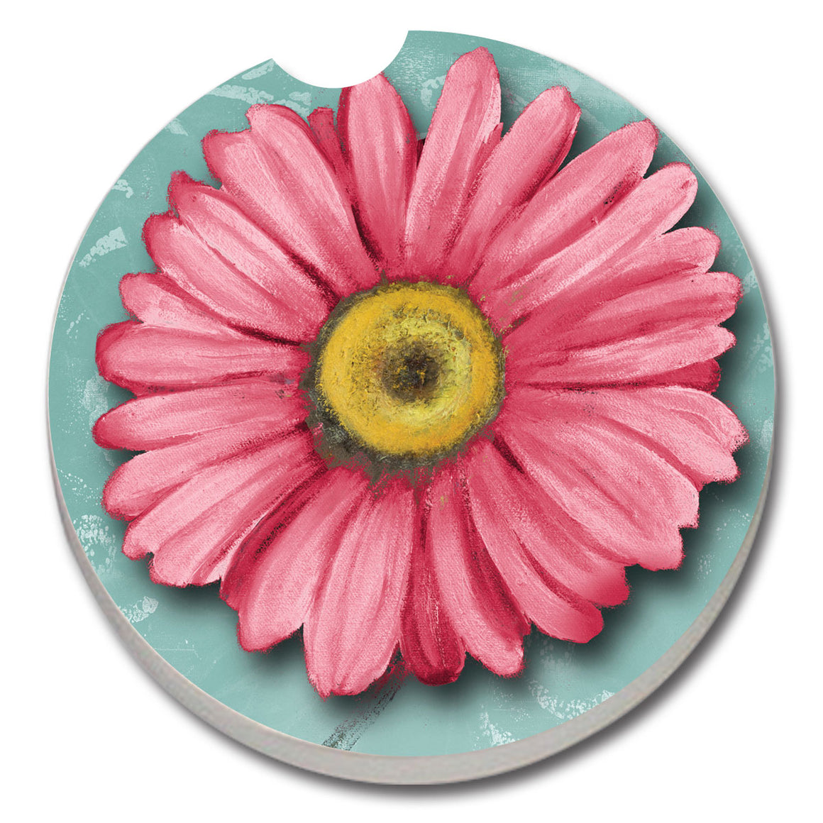 Blooming Daisy Car Coaster