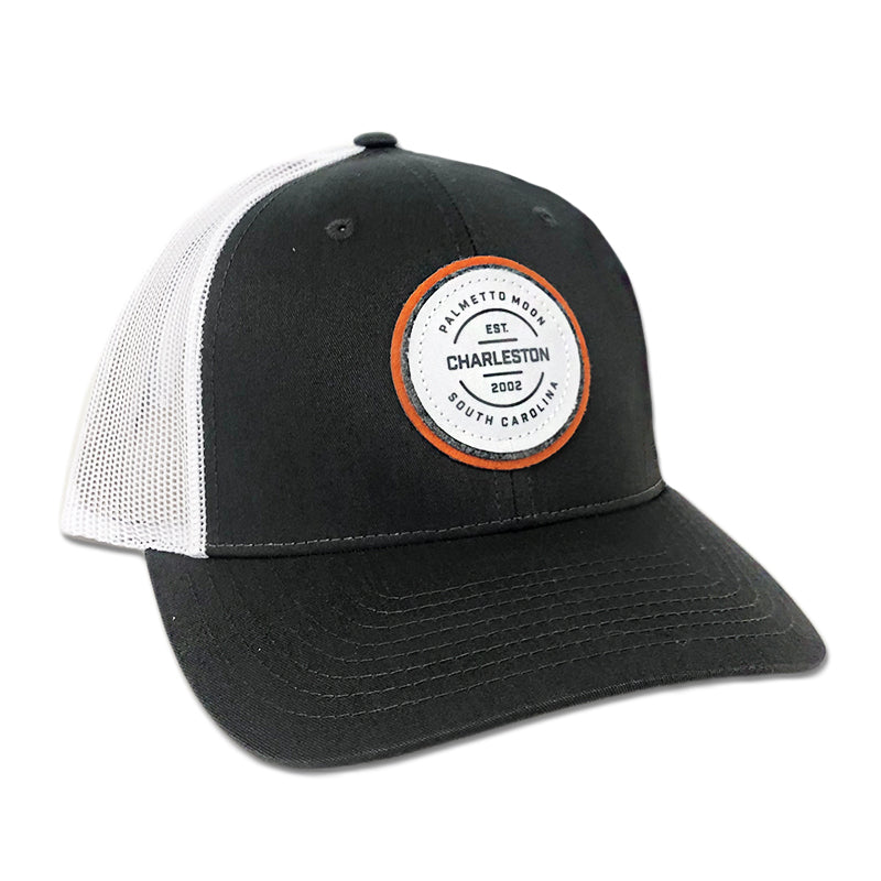 Palmetto Moon Est. Charleston Circle Patch Hat