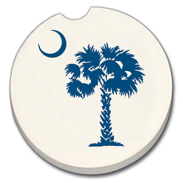 Palm Moon SC Flag Car Coaster