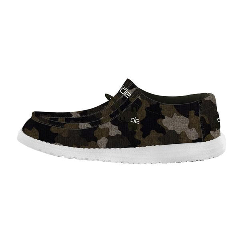 Boys Wally Linen in Camo