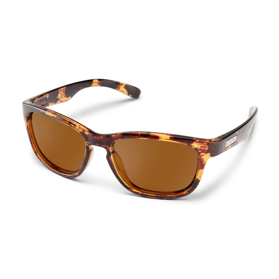Cinco Tortoise Polarized Brown Sunglasses