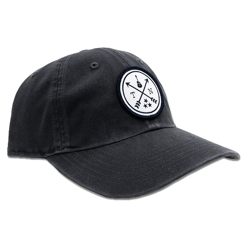 Tennessee Circle Woven Patch Dad Hat