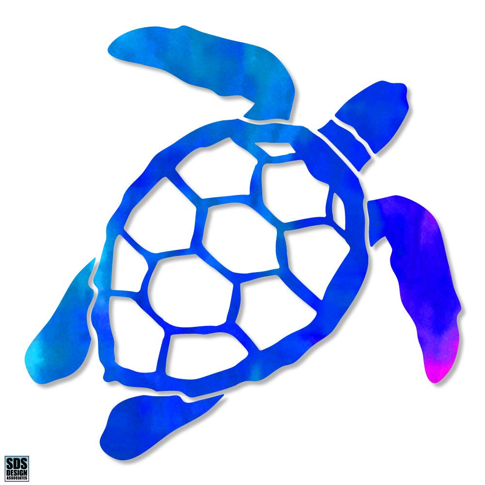"Sea Turtle 3"" Decal"