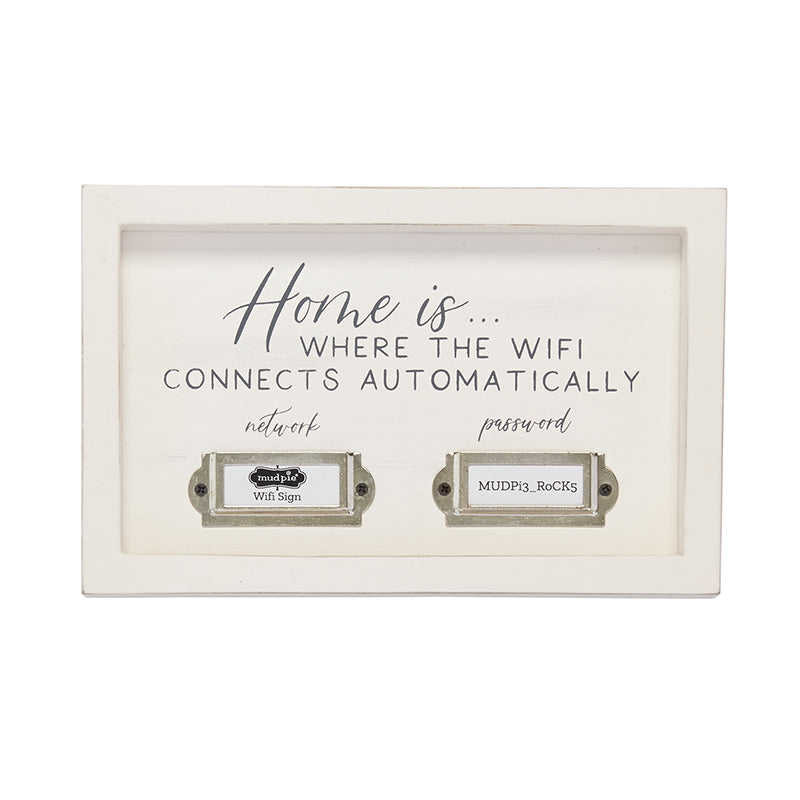 Home is Where the Wifi Connects Automatically Sign