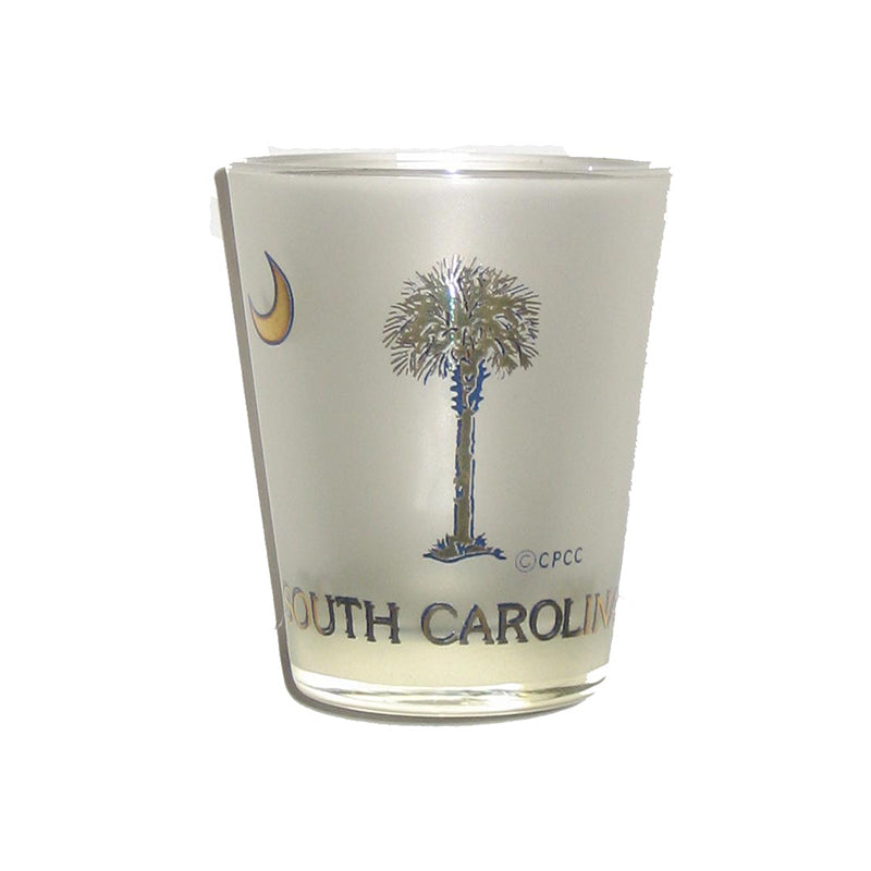 Frosted SC Shot Glass