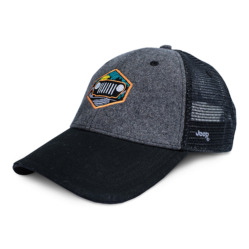 Jeep Through the Mountains Trucker Hat