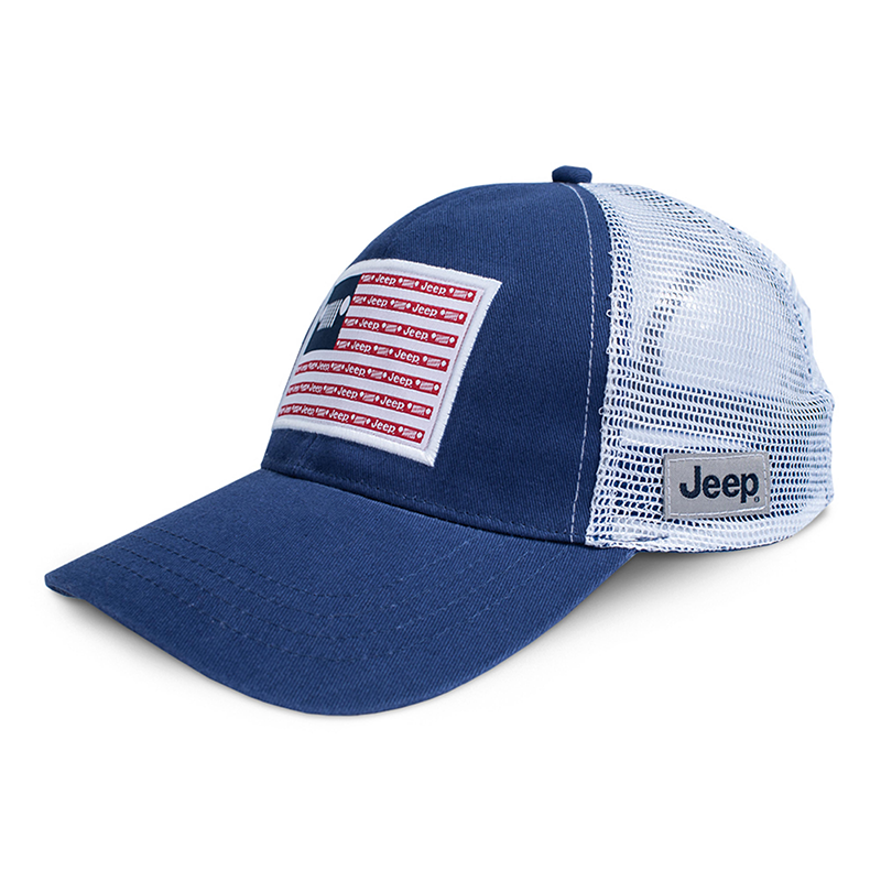 Jeep Stars and Stripes Trucker Hat