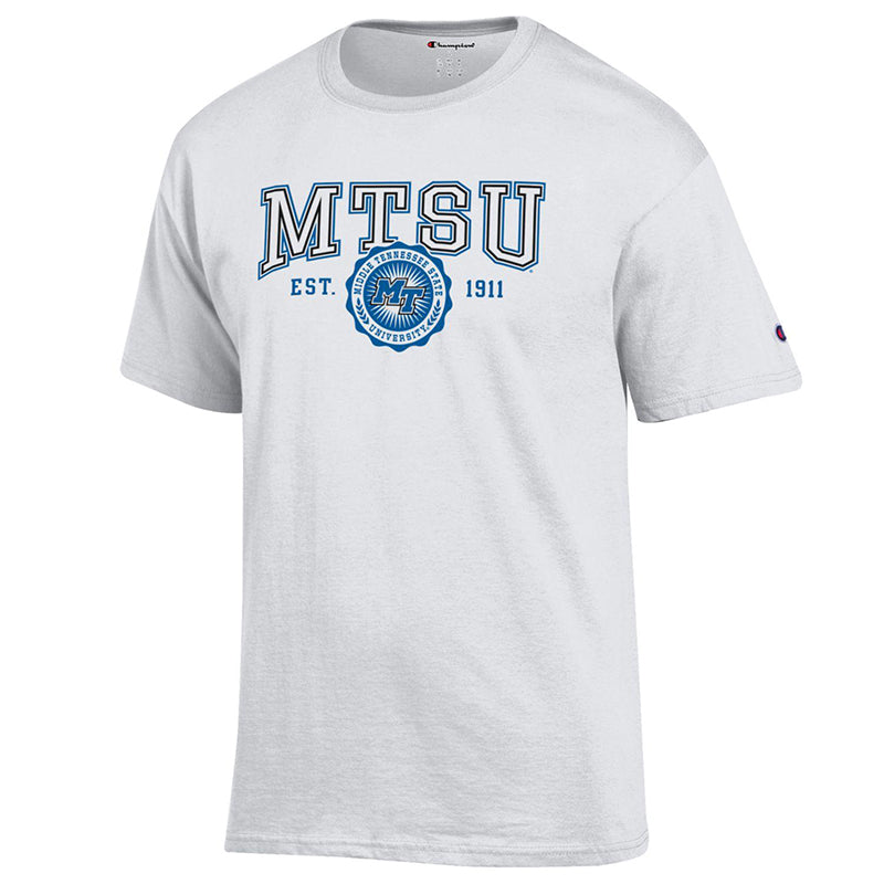 MTSU Vintage Patch Short Sleeve T-Shirt