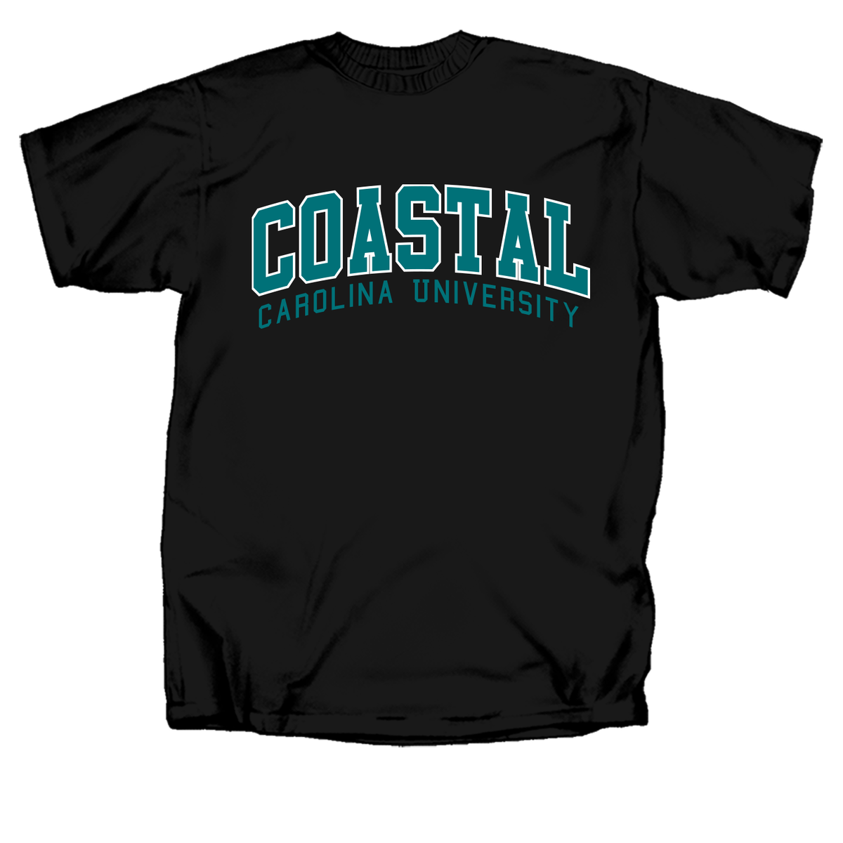 Coastal Carolina 2 Color Arch Short Sleeve T-Shirt