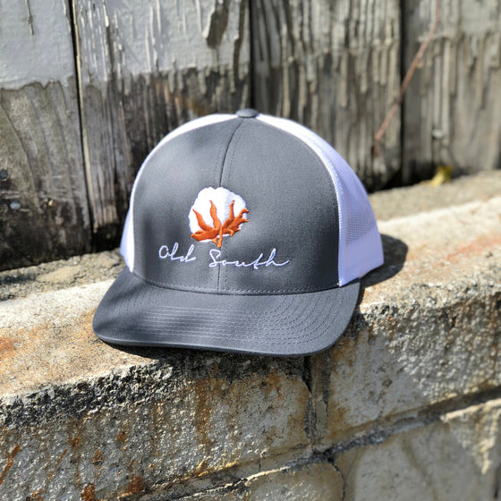 66d2d93ca8a Cotton Trucker Hat Grey ...