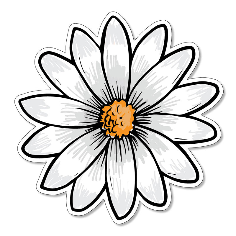 "Daisy 3"" Vinyl Decal"
