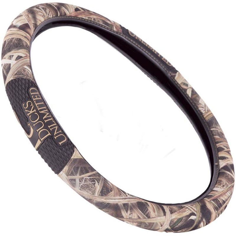 Ducks Unlimited Camouflage Steering Wheel Cover
