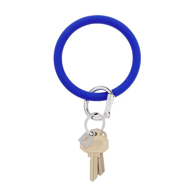 Blue Me Away Silicone Keyring