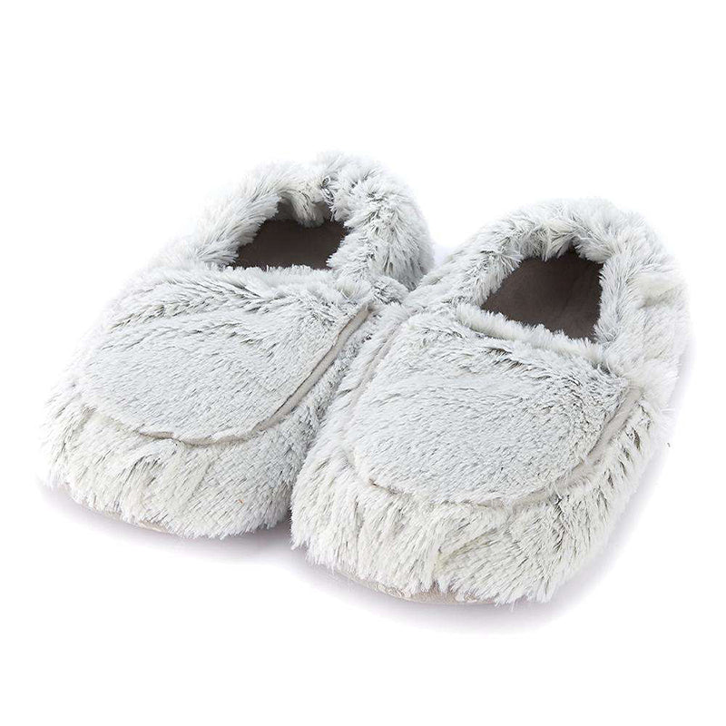 Warmies® Marshmallow Grey Slippers