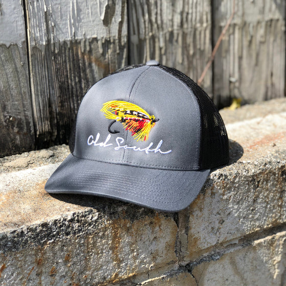 df011b705d2e5 Fly Fishing Trucker Hat ...