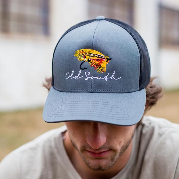 Old South Fly Fishing Trucker Hat  2a568427265