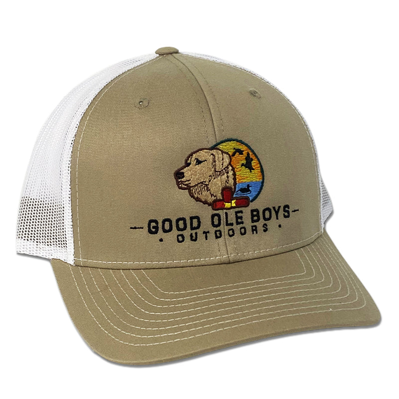 Dog and Duck Trucker Hat