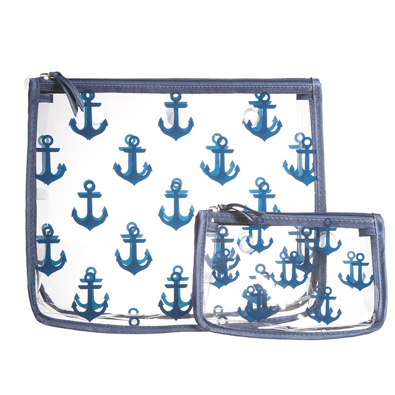 Bogg Bag Inserts in Navy Anchor